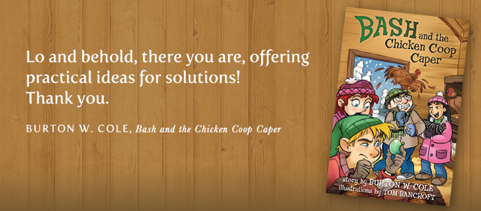 Bash and the Chicken Coop Caper book cover